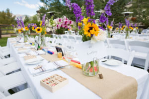 Outdoor Weddings at Larkspur Events & Dining in Vail.
